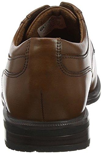 Rockport Essential Details II Plain, Scarpe Stringate Derby Uomo Marrone (Tan)