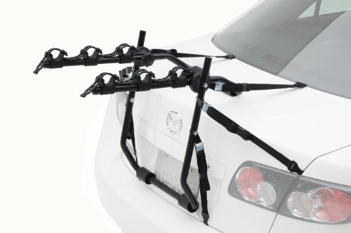Hollywood Racks E3 Express 3-Bike Trunk Mount Rack - Mount Rack 3 Bike Carrier