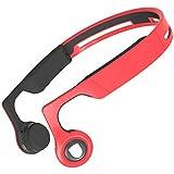 Aiko Sound Bone Conduction Wireless Bluetooth Open Ear Sport Headphones Model C - Red