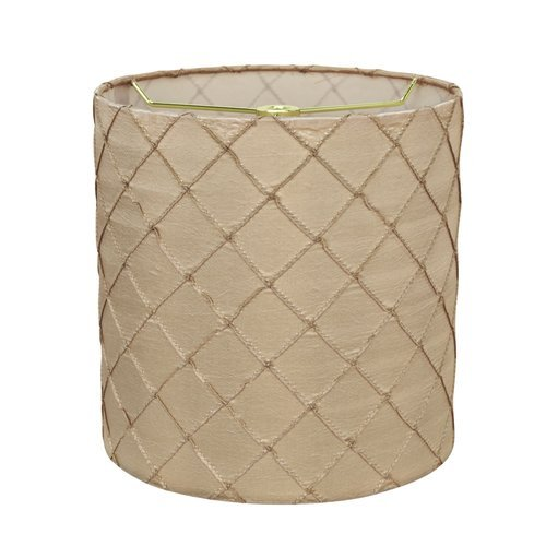 OKSLO Winston Porter Transitional 8'' Faux Silk Drum Lamp Shade from OKSLO