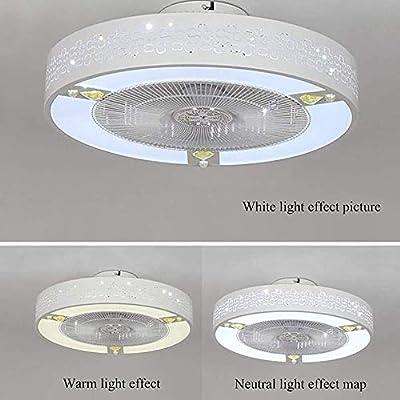 niboline Techo de luz de Techo con Ventilador de Techo luz Luces ...