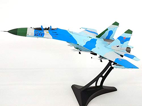 SU-27 Flanker Russian Air Force - with Display Stand - 1/72 Diecast Model