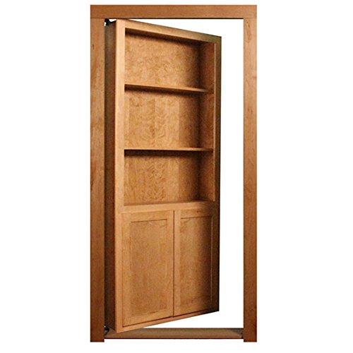 False Door Bookcase: Secret Door Bookcase