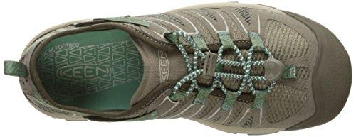 Keen Mckenzie Ii - Zapatos de Low Rise Senderismo Mujer Braun (Canteen/Malachite)