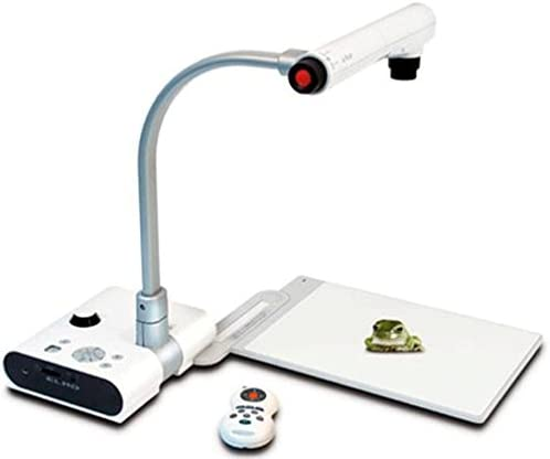 "Elmo 9418 Teacher's Tool TT-02u Digital Visual Presenter with Built-In USB Port, 1/3"" Progressive Scan CCD 850,000 Pixels; 1024 x 768"