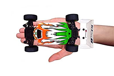CARISMA GT24B(Green) 1/24 4WD Radio Control Buggy Ready-To-Run Set with Lipo Battery
