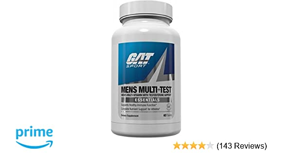 Amazon com: GAT Mens Multi + Test, Premium Multivitamin and Complete