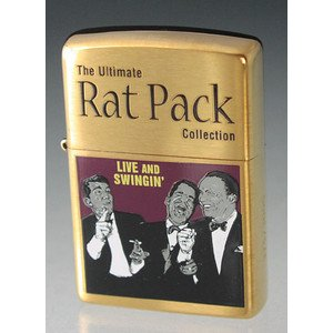 The Rat Pack - Live & Swinging - Frank Sinatra, Dean Martin and Sammy Davis Jr. Limited Edition Zippo Cigarette Lighter #20914