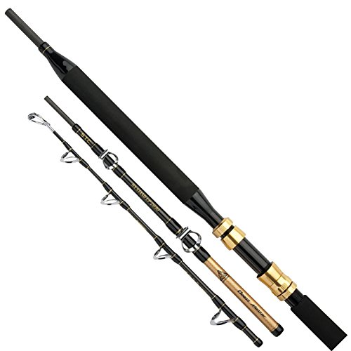 Shimano Beastmaster BX STC Stand Up 20-30lbs, 5.50 feet / 1.68 meter, 4 Sections, Boat Fishing Rod, Travel Trolling Fishing Rod, (Shimano Tuna Rod)