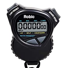 The best choice for reliability at the most economical price. Combines a multi-mode stopwatch with an easy-to-use countdown timer. The Robin 1000W offers thoughtful design features and high quality construction. Extra large digital display, s...