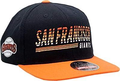San Francisco Giants Snapback Headline Flat Bill Black/Orange
