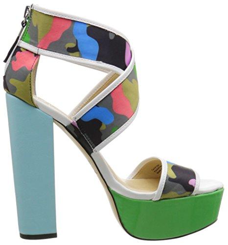 Gwen White Platform by Stefani Camo Macayla Women's Sandal gx 5TCfqwOC