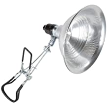 Bayco SL-301B4 8.5-Inch Clamp Light with Aluminum Reflector with Grip-Tite Super Clamp
