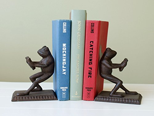 Marshall Home and Garden Frog Bookends from Marshall Home and Garden