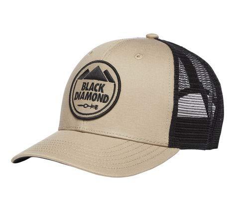 Black Diamond Trucker Hat - Dark Cley/Anthracite ()