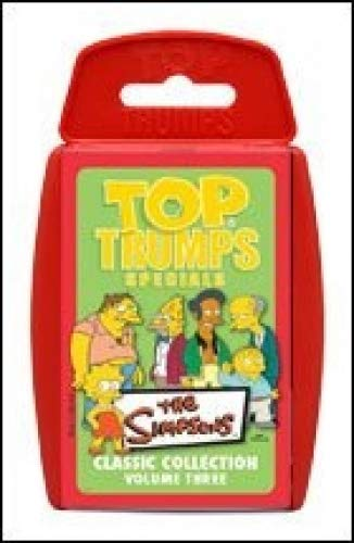 Top Trumps card game Simpsons Volume 3 Toy BBB-TTsimp3