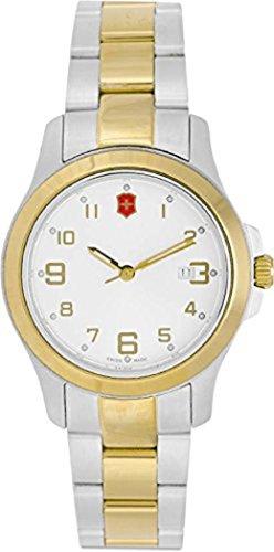 Victorinox Garrison Elegance Silver Dial Stainless Steel Ladies Watch 26062CB