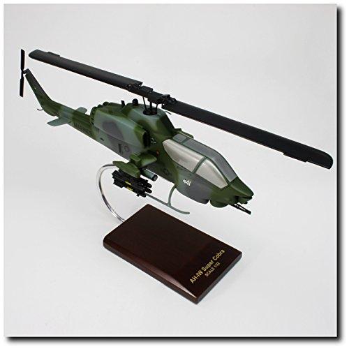 Planejunkie Aviation Desktop Model - Bell AH-1W Super Cobra Model - Aviation Art