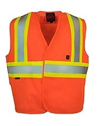 Fire Resistant (FR) 5-Point Tear-away Hi Vis Safety Vest