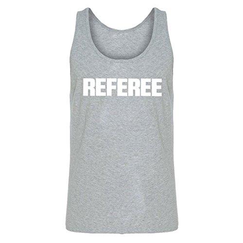 Tank Top Referee X-Large Heather Grey Unisex Jersey