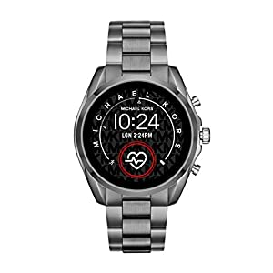 Michael Kors Access Gen 5 Bradshaw Smartwatch- Powered with Wear OS by Google with Speaker, Heart Rate, GPS, NFC, and Smartphone Notifications.