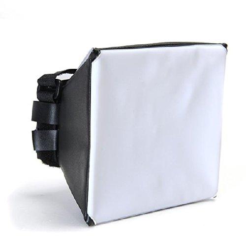 Ecloud Shop Difusor Ventana de Flash Universal para Canon Nikon Sony Sigma Metz