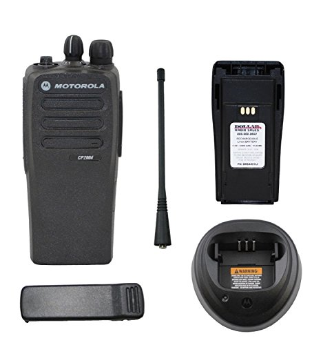Motorola CP200D UHF Digital MOTOTRBO 403-470Mhz 16Ch 4W AAH01QDC9JA2AN Portable Radio (Theater Walkie Talkies)