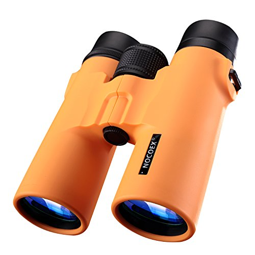 New 52 Power Girl Costume (NOCOEX 8X42 HD Binoculars - Military Telescope for Bird Watching, Hunting and Travel - Compact Folding Size with Strap - High Clear Large Vision - Orange)
