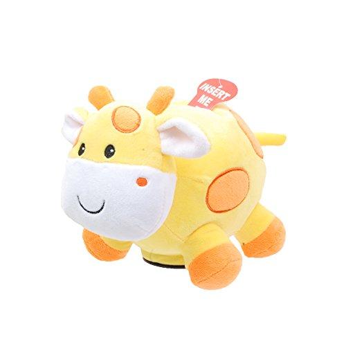 Giraffe Bank - Linzy Plush Giraffe Coin Bank with Twinkle, Twinkle, Little Star Song, Yellow 8