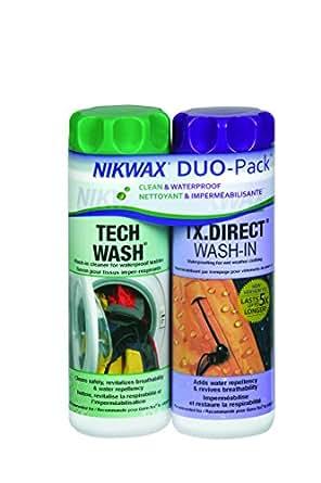 Nikwax Hardshell Clean/Waterproof DUO-Pack