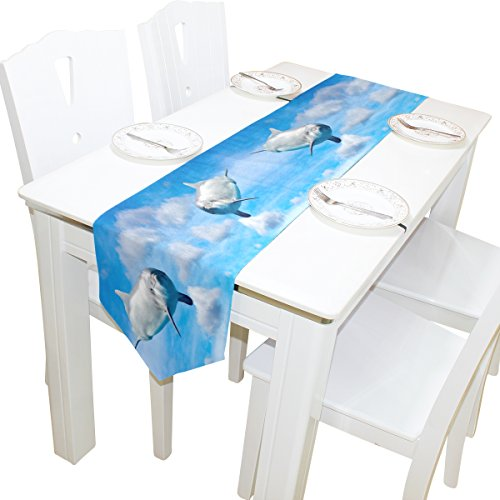 ABLINK Dolphin The Sky 100% polyester characteristic print d