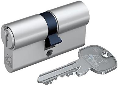 verschieden schlie/ßend,30//45mm mit 10 Schl/üsseln Basi AS-Profil-Doppelzylinder
