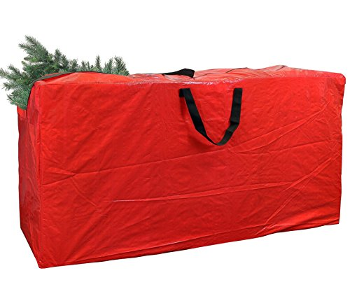Greenco Extra Large Christmas Tree Storage Bag For 9 Foot Tree, Dark Red, Dimensions 65 x 15 x 30 Inches