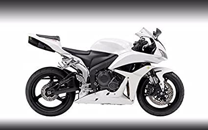 Amazoncom Gloss White Complete Fairing Injection For 2007 2008