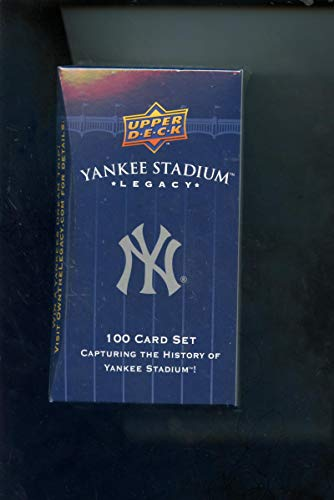 2008 Upper Deck New York Yankees Yankee Stadium Legacy Complete Box Set Baseball