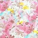 ダブルガーゼ生地 二重ガーゼ生地 Wガーゼ 生地 メルヘン柄 (50cmから注文可) (価格は10cmの価格)の商品画像