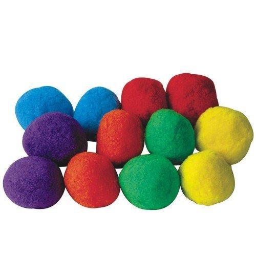 - S&S Worldwide Spectrum Puff Balls 4