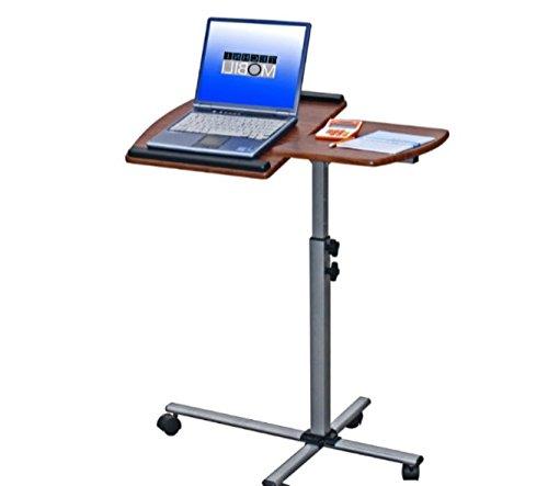 Amazoncom Stand Up Computer Workstation Rolling Laptop Desk30