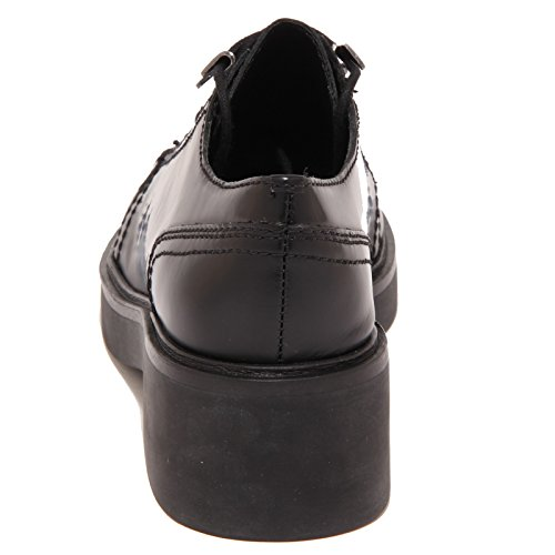 ASH 5588O Scarpa Allacciata Novak Nero Scarpa Donna Shoe Woman [35]