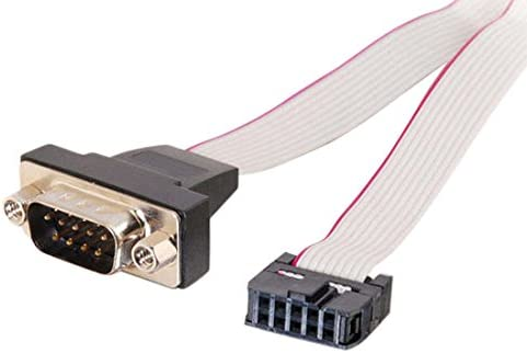 C2G 02882 DB9 Male Serial RS232 Add-A-Port Adapter Cable (11 Inches)