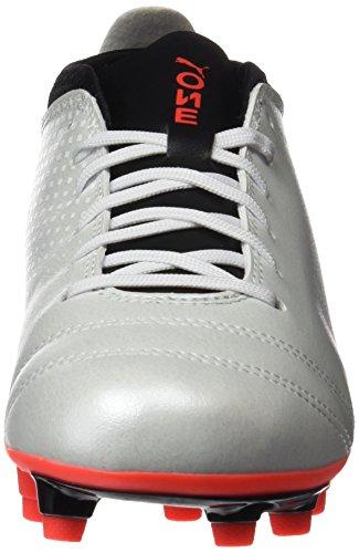 Fg 4 Puma black Zapatillas One Hombre Para De Coral white fiery Fútbol Blanco 17 wCqrtHxEnC