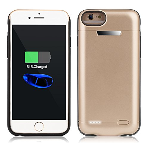 Iphone Portable Protective Rechargeable Gold