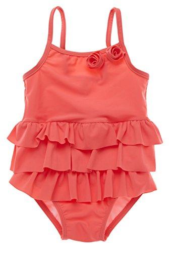 ALove Baby Girl's One Piece Ruffle Swimsuit Cute Swimwear Beachwear 0-6 Months