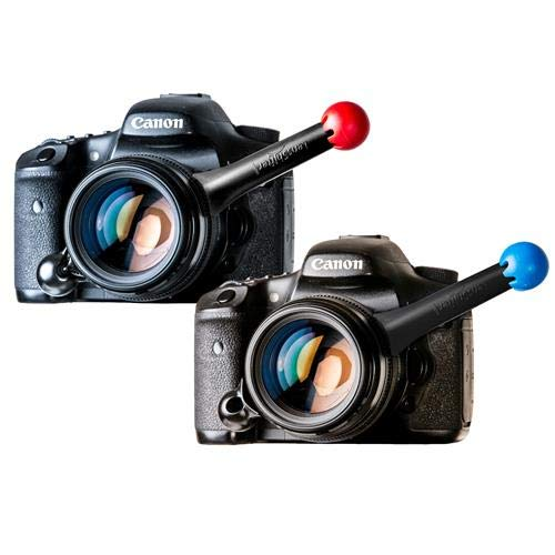 FocusShifter LensShifter Pro Focus & Zoom Grip, Red & Blue Pair by FocusShifter