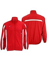 Mens Championship Team Windbreaker Track Jacket, Scarlet