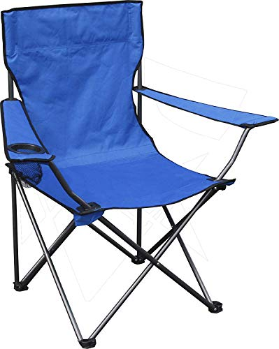 Quik Chair Portable Folding Chair with Arm Rest Cup Holder and Carrying and Storage Bag from Quik Shade