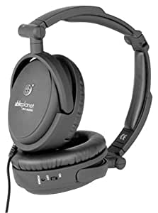 ABLE PLANET NC200B True Fidelity Foldable Active Noise Canceling Headphones (Black) (Discontinued by Manufacturer)