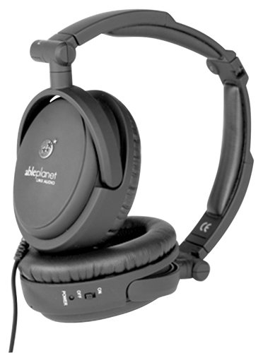 ABLE PLANET NC200B Noise Cancelling Headphones