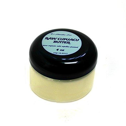 Exotic Butter (4 Oz Pure & Organic Exotic Cupuacu Butter Unrefined Cold Pressed)