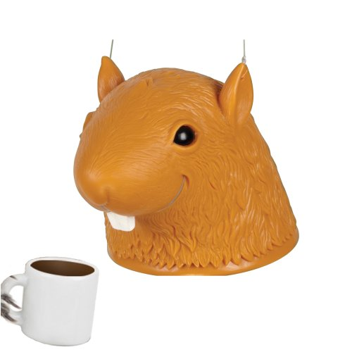 Head Squirrel Feeder Coffee Combo